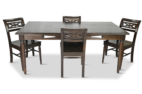 Contemporary Pier 1 Dining Table