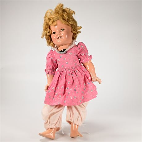 Vintage 1930's Ideal Shirley Temple Doll