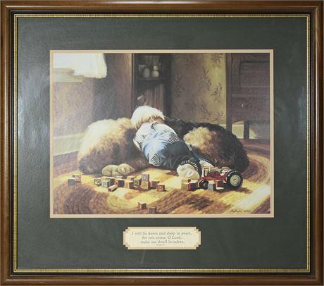 Sleep Prayer Framed Print