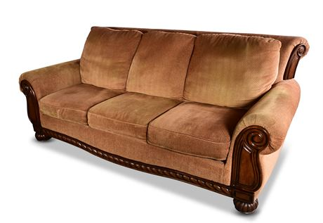 Elegant Upholstered Sofa