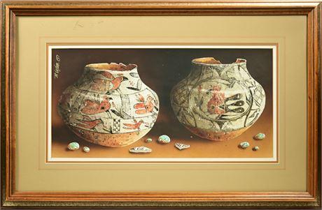 "Bernard Vetter ""Acoma Pottery"""