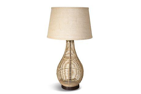 Rattan Table Lamp