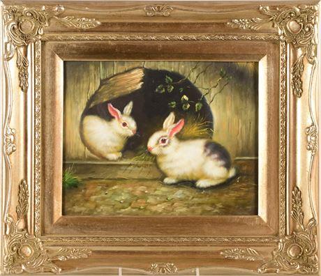 Rabbit Painting II