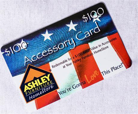 Ashley's Furniture Gift Card