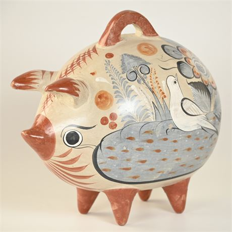 Vintage Tonala Piggy Bank