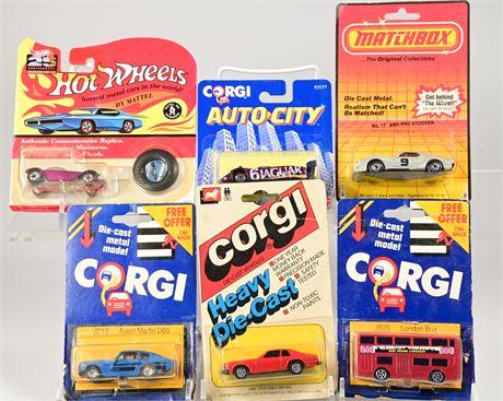 Vintage Corgi, Matchbox & Hot Wheels