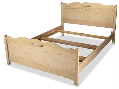 1940's Monterrey Style Full Bed