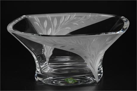 Shannon Crystal Centerpiece Bowl