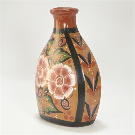 Vintage Burnished Tonala Vase