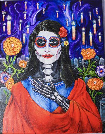 Nuestra Señora de las Velas by Dean Hammond