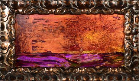 "Susan Loverin Original Oil ""Enchanted Sunset I"""