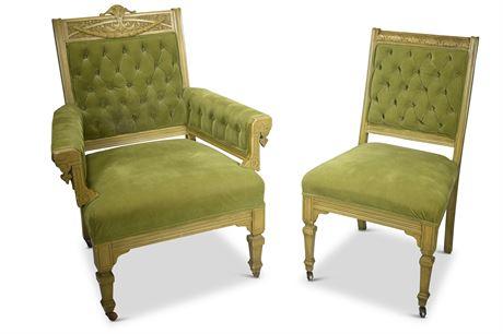Eastlake Parlor Chairs