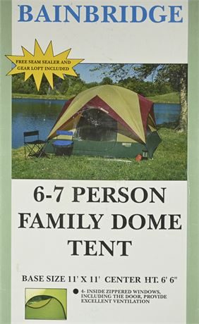Ridgeway Bainbridge 6-7 Person Tent