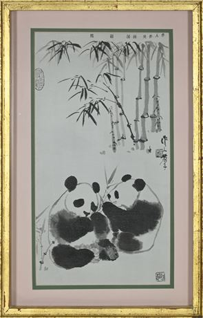 Panda Themed Chinese Art