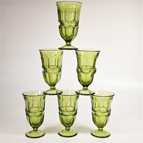 Argus Glass Fostoria Ice Tea Goblets