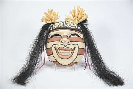 Jemez Mask by Zannie Loretto