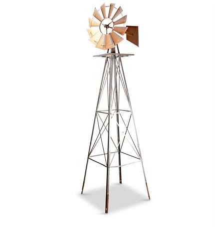Vintage Yard Windmill