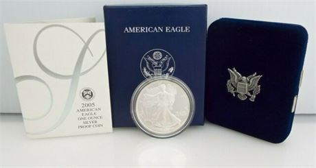 2005 American Eagle One Ounce Proof Coin
