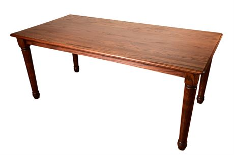 Solid Oak Desk or Writing Table