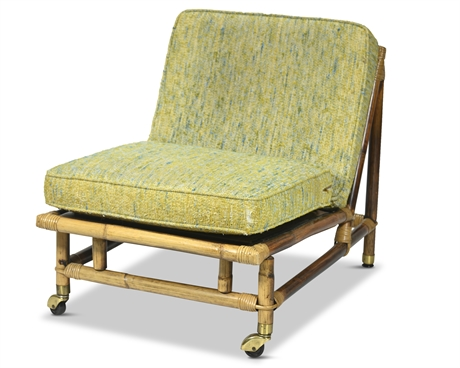 John Wisner Ficks Reed Rattan Side Chair