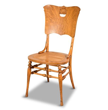Antique Oak Side Chair