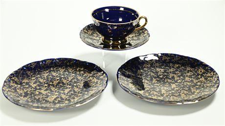 Bavaria Blue Cobalt M & K Lunch Set