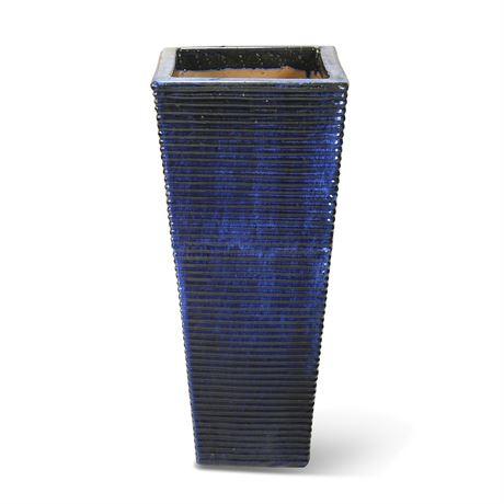 Floor Standing Cobalt Vase