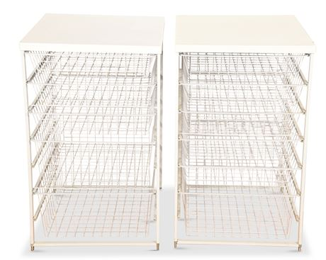 Metal Wire Storage Drawers