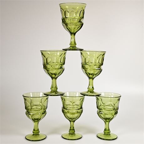 Argus Glass Fostoria Water Goblets/Glasses