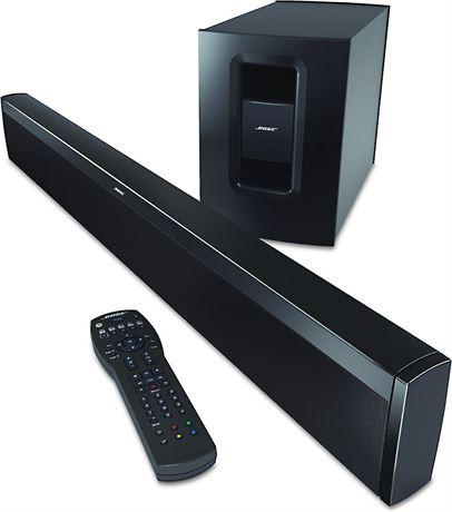 Bose CineMate 1 SR Soundbar and Subwoofer