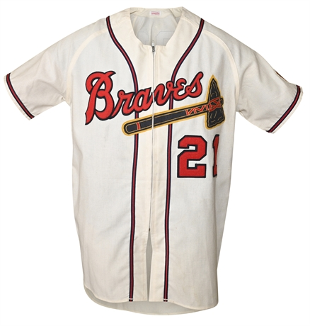 Braves Jersey #21, Reproduction