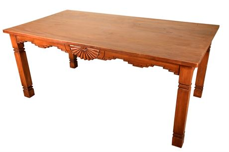 Southwest Carved Table