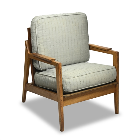 Mid-Century Teak Arm Chair