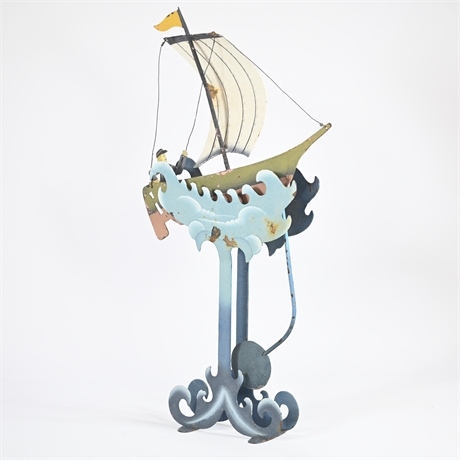 Riding The Waves - Balance Toy Motion Art and Motion Sculpture