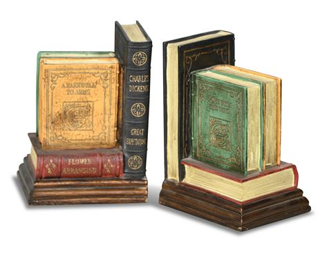 Pair Classic Book Bookends