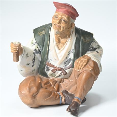 Vintage Japanese Porcelain Figure