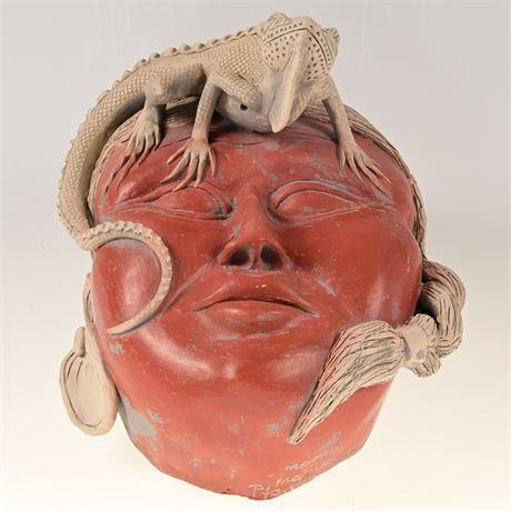 Mama Mono Puerto Vallarta Pottery Mask