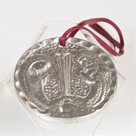 Vintage Nambé Christmas Ornament