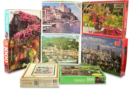 Croxley, Whitman and More Jigsaw Puzzles