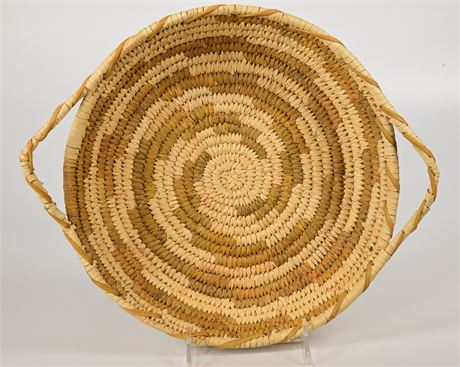 Vintage Papago Basket with Handles