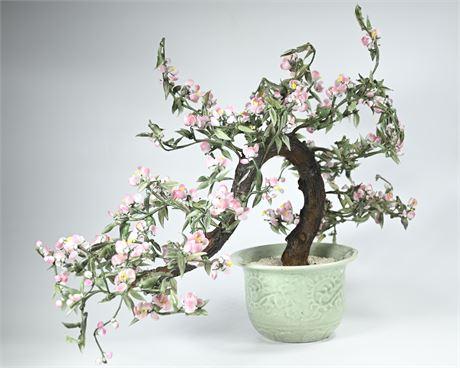 Blown Glass Bonsai Blossom Tree