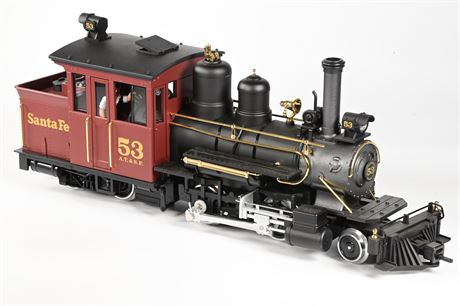 LGB - Lehmann #26251 Santa Fe Forney Steam Locomotive