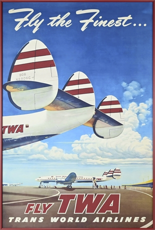 TWA Repro Poster