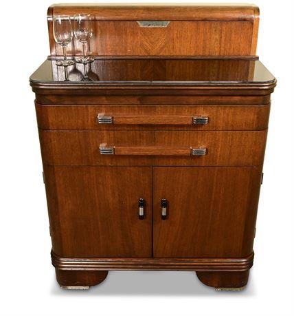 Art Deco 1940's Medical Cabinet/Bar