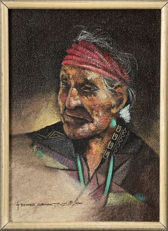 Richard Gorman Original Painting