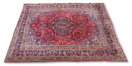 Semi Antique Persian Tabriz Rug
