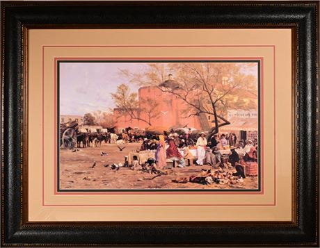 Thomas Allen Framed Print