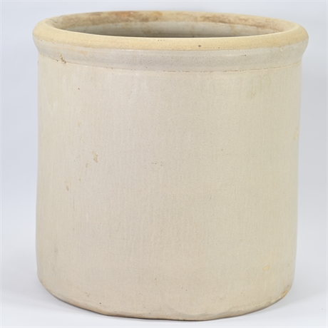 Large Antique Salt Glazed Stoneware Crock