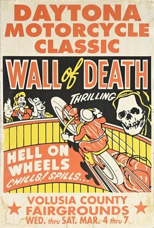 Daytona Wall of Death Promo Poster