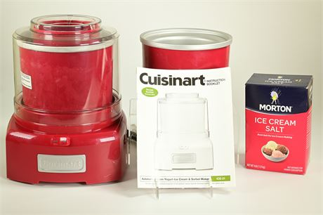 Cuisinart Automatic Yogurt-Ice Cream and Sorbet Maker